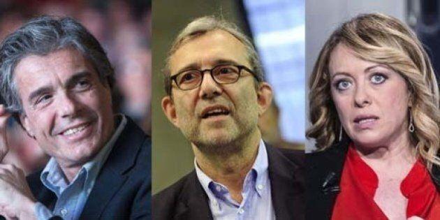Sondaggio Piepoli, a Roma Alfio Marchini, Giorgia Meloni e Roberto Giachetti si contendono