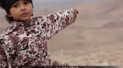 Il bimbo Isis che minaccia gli infedeli: