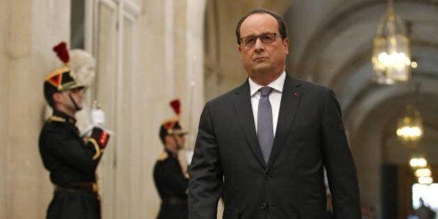 Strage Parigi, il discorso di guerra di François Hollande.