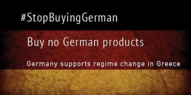 #BoycottGermany: il web incoraggia il boicottaggio dei prodotti