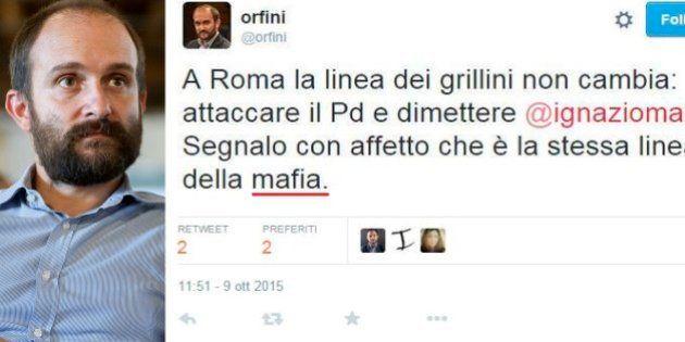 Movimento 5 Stelle contro Matteo Orfini:
