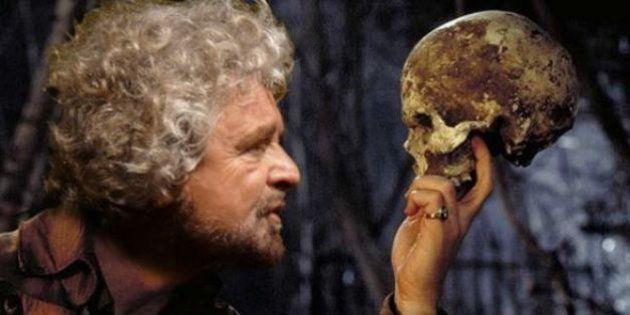 Beppe Grillo cancella il suo nome dal simbolo del Movimento 5 Stelle: