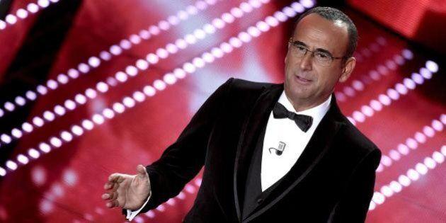 Sanremo 2016, la Juve non ferma il festival. Ascolti ancora