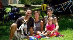 La vacanza della famiglia eco-friendly: 6mila km in bici, nutrendosi di piante e