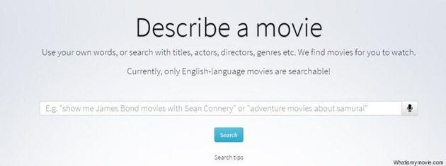 Un sito aiuta a trovare il titolo del film.