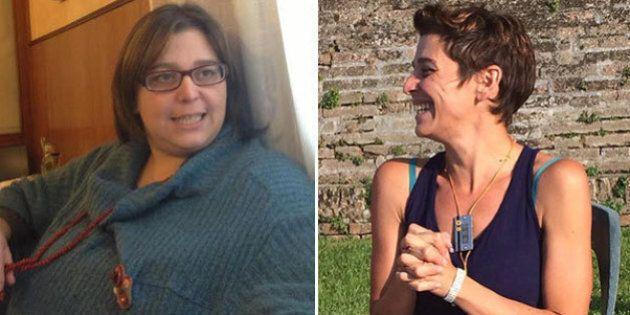 Francesca Sanzo da 102 a 60 kg in meno di due anni: