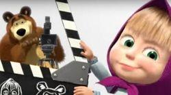 Masha e Orso sbarcano al cinema a Natale