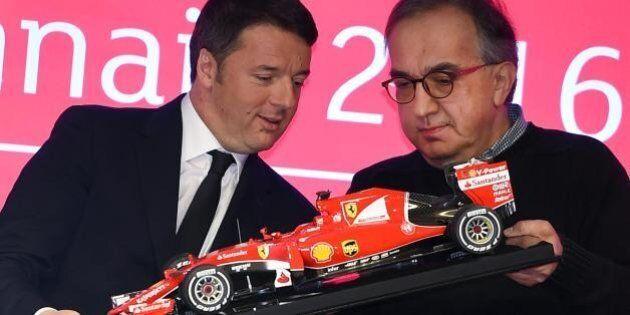 Ferrari debutta a Piazza Affari. Matteo Renzi: