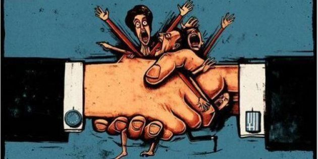 #Greekment: così ti ridicolizzo la Merkel. Le vignette sulla crisi greca impazzano sul