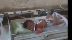 Bombe sull'ospedale in Siria, il pianto disperato dei bimbi nelle