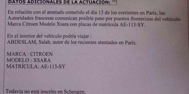 Strage Parigi, si cerca una Citroen Xsara con a bordo Salah Abdeslam. Anche in Spagna