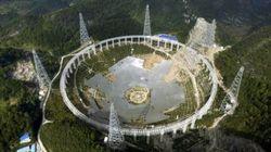 In Cina sgomberano i terrestri per osservare gli