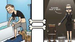 Queste vignette divertenti mostrano come i cani vedono la