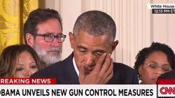 Le lacrime di Obama contro le