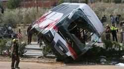 Strage di studenti in Spagna: 13 morti, 5 italiani tra i feriti. Forse colpo di sonno