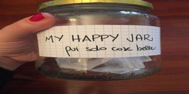 #myhappyjar, la felicità in barattolo per