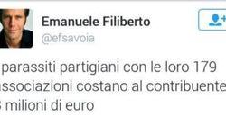 Emanuele Filiberto contro