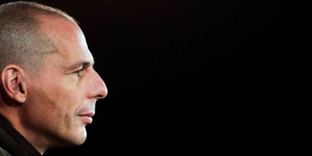 Former Greek finance minister Yanis Varoufakis attends a news conference about the launch of a new left-wing...