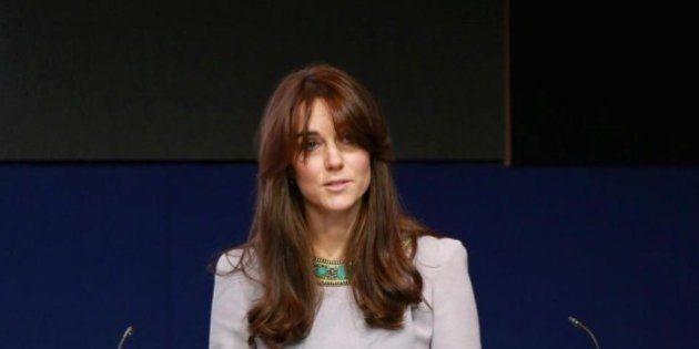 Kate Middleton al suo primo discorso importante: