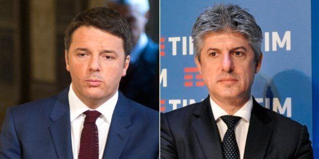 Telecom, pioggia di mail dei dipendenti a Renzi in difesa di Patuano: 1500 lettere chiedono chiarimenti....