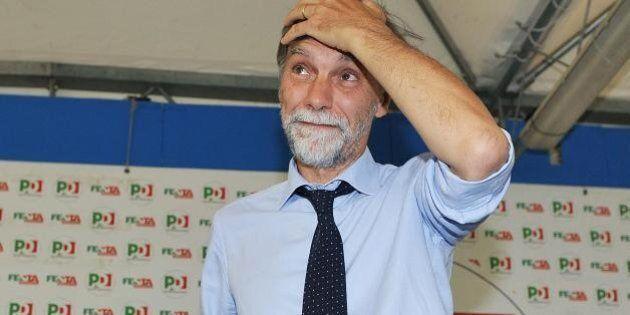 Graziano Delrio e Giorgio Squinzi alla Festa dell'Unità. Per il ministro le elezioni non sono tabù, e...