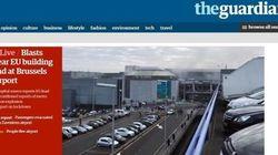 Bruxelles sotto attacco: la notizia sui giornali di tutto il