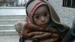 A Madaya i bambini siriani assediati muoiono di