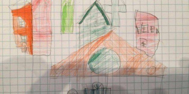 Finestre con le sbarre e case senza porte: nei disegni di Fortuna Loffredo la piccola uccisa raccontava...