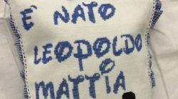 È nato Leopoldo Mattia, figlio della D'Amico e