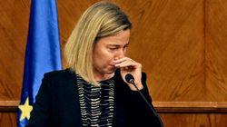Mogherini scoppia in lacrime: