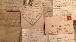 Trova un plico di lettere d'amore vecchie 100 anni e rintraccia i