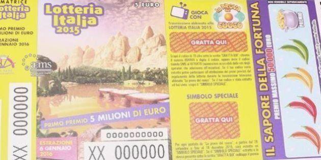 Lotteria Italia 2016: tutti i premi, i 50 biglietti che vincono 50mila euro. Venduto a Veronella il biglietto...