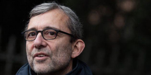 Elezioni Roma, il candidato Pd Roberto Giachetti alla prima romana dello spettacolo di Beppe