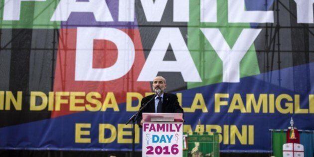 Unioni civili, mister Family Day Massimo Gandolfini ringrazia Beppe Grillo: