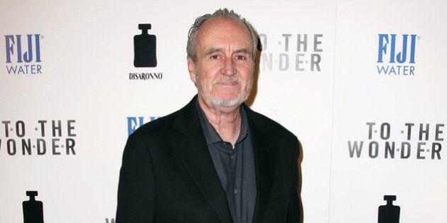 Wes Craven arrives at the premiere