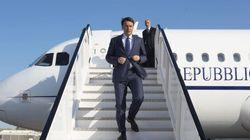 Il vecchio aereo ferma Renzi. Si rompe un finestrino, scalo obbligato in
