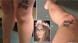 Può bastare un tatuaggio come questo per parlare di