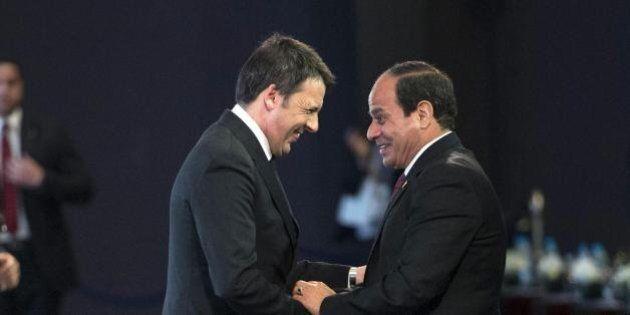 Patto del gas tra Renzi e al Sisi. La scoperta dell'Eni fa dell'Egitto il partner centrale della strategia