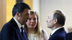 Renzi telefona a Putin, spezza l'isolamento del leader