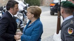 Renzi al vertice con Merkel: sul groppone le grane coi