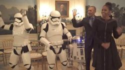 L'impero di Star Wars invade la Casa Bianca. E gli Obama si