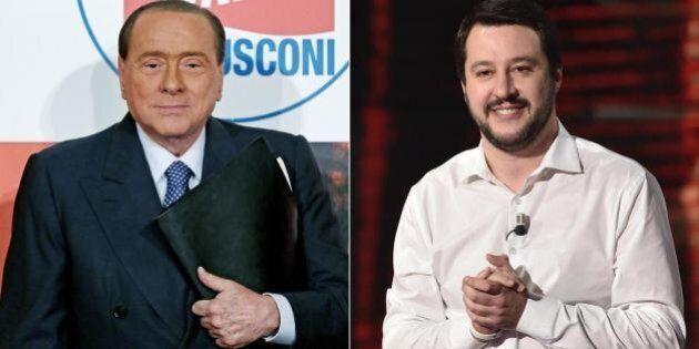 Lega Nord, Matteo Salvini vuole il ticket con Berlusconi: