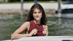 Sbarca al Lido l'affascinante modella Elisa Sednaoui madrina del