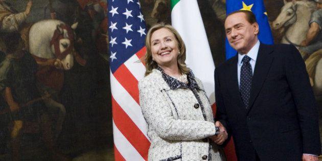 Hillary Clinton, nelle email private spunta Silvio Berlusconi.