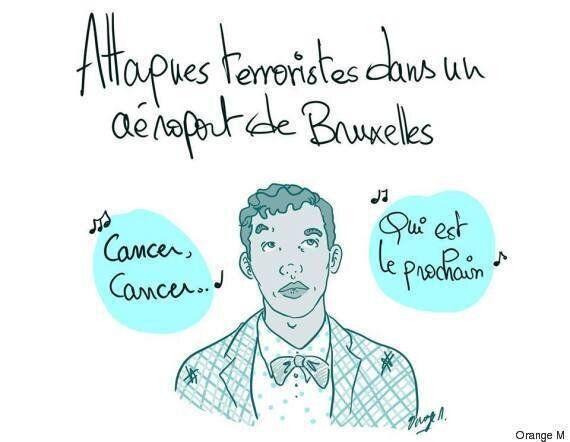 I disegnatori tunisini rendono omaggio al Belgio dopo gli