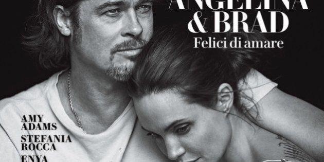 Brad Pitt e Angelina Jolie in forma smagliante sull'ultima copertina di Vanity