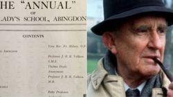 JRR Tolkien inedito scoperto in un annuario