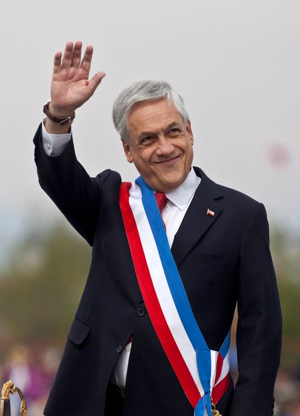"<br>Pinera is the 11th richest person in Chile, worth an estimated<a href=""http://www.forbes.com/profile/sebastian-pinera/"" t"