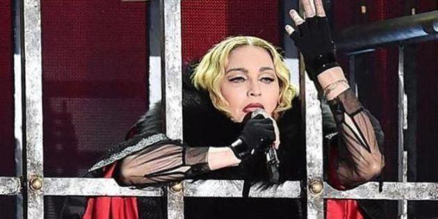 Madonna a Torino: