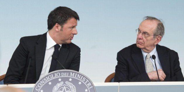 Taglio delle tasse, incontro tra Matteo Renzi e Pier Carlo Padoan: spending review ministeriale e riduzione...